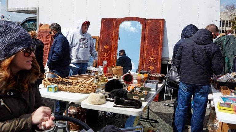 Joe Lombardo's stall at the Empire State Market