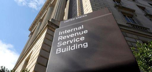 The Internal Revenue Service building in Washington, D.C.,