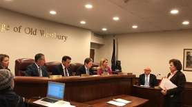 The village board of trustees approved the renewal