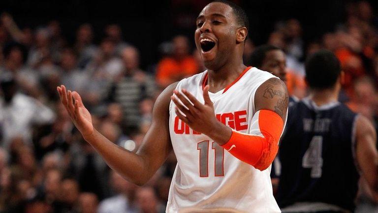 Scoop Jardine and the Syracuse Orange earned a