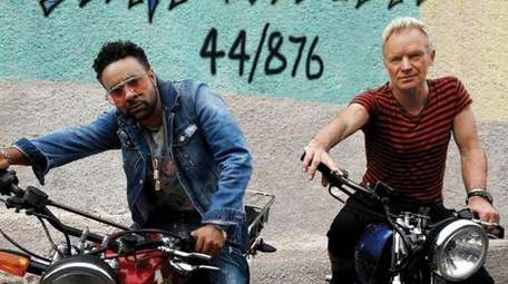 """Sting & Shaggy's """"44/876"""" on A&M/Interscope Records"""