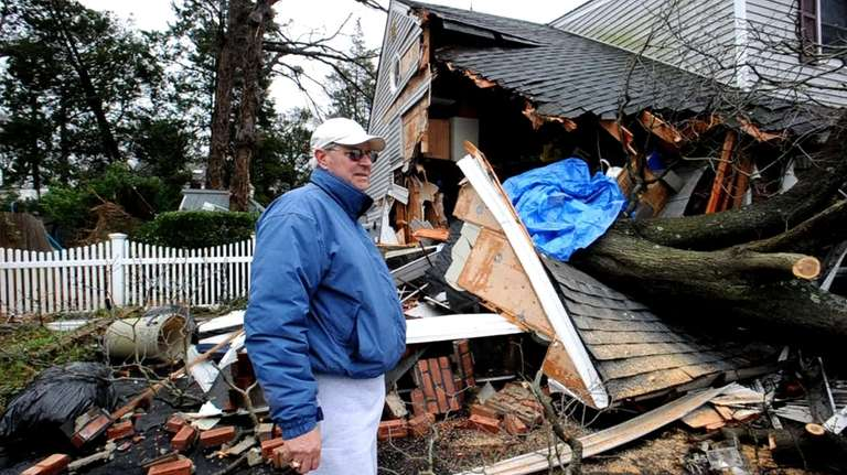 Gary Marsicovetere talks about the tree that toppled