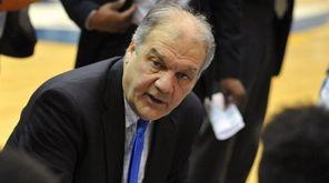 Hofstra University men's basketball head coach Joe Mihalich