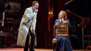 Harry Hadden-Paton and Lauren Ambrose in Lincoln Center