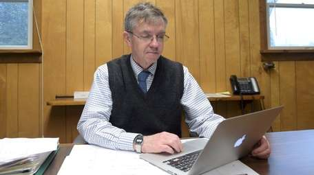Smithtown Planning Director David Flynn, seen here on