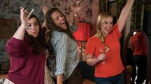 "Amy Schumer, left, stars in ""I Feel Pretty."""