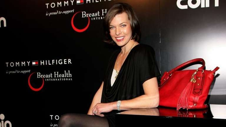 Actress Milla Jovovich attends the Tommy Hilfiger Limited