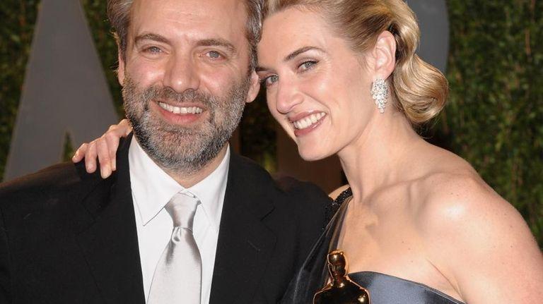 Oscar-winning actress Kate Winslet and film director husband