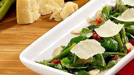 Arugula-asparagus salad from California Pizza Kitchen