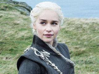 Emilia Clarke as Daenerys Targaryen in HBO's