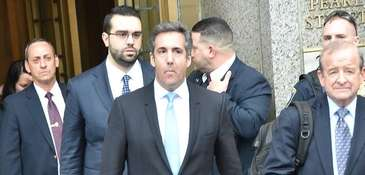 Michael Cohen's lawyers recommended four people to be
