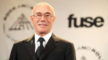 Inductee David Geffen attends the Rock and Roll