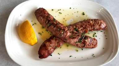 Loukaniko, a traditional Greek pork sausage scented with