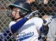 Division's Dani Roselli homers during a Nassau softball