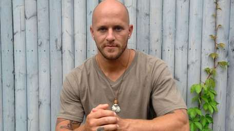 Shaun Collins, a former heroin drug addict, punched