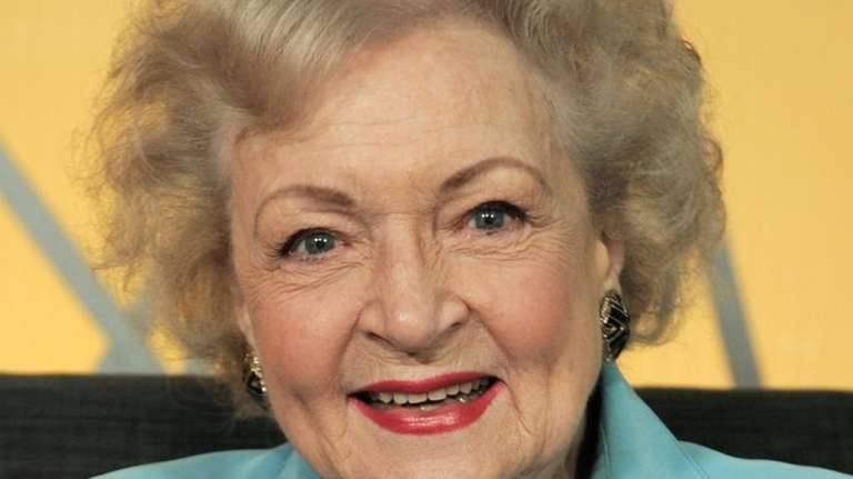 Actress Betty White poses for a portrait in
