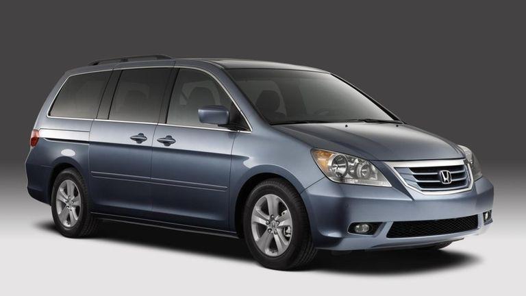 2008 Honda Odyssey.