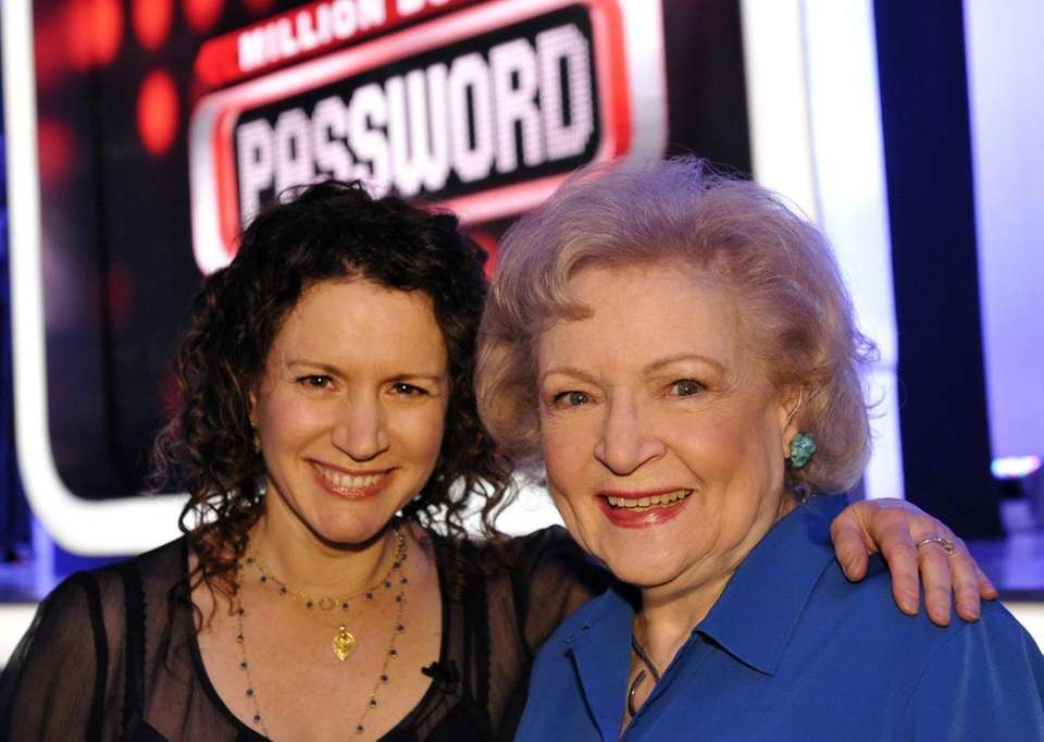 Legendary comedic actress Betty White and Susie Essman