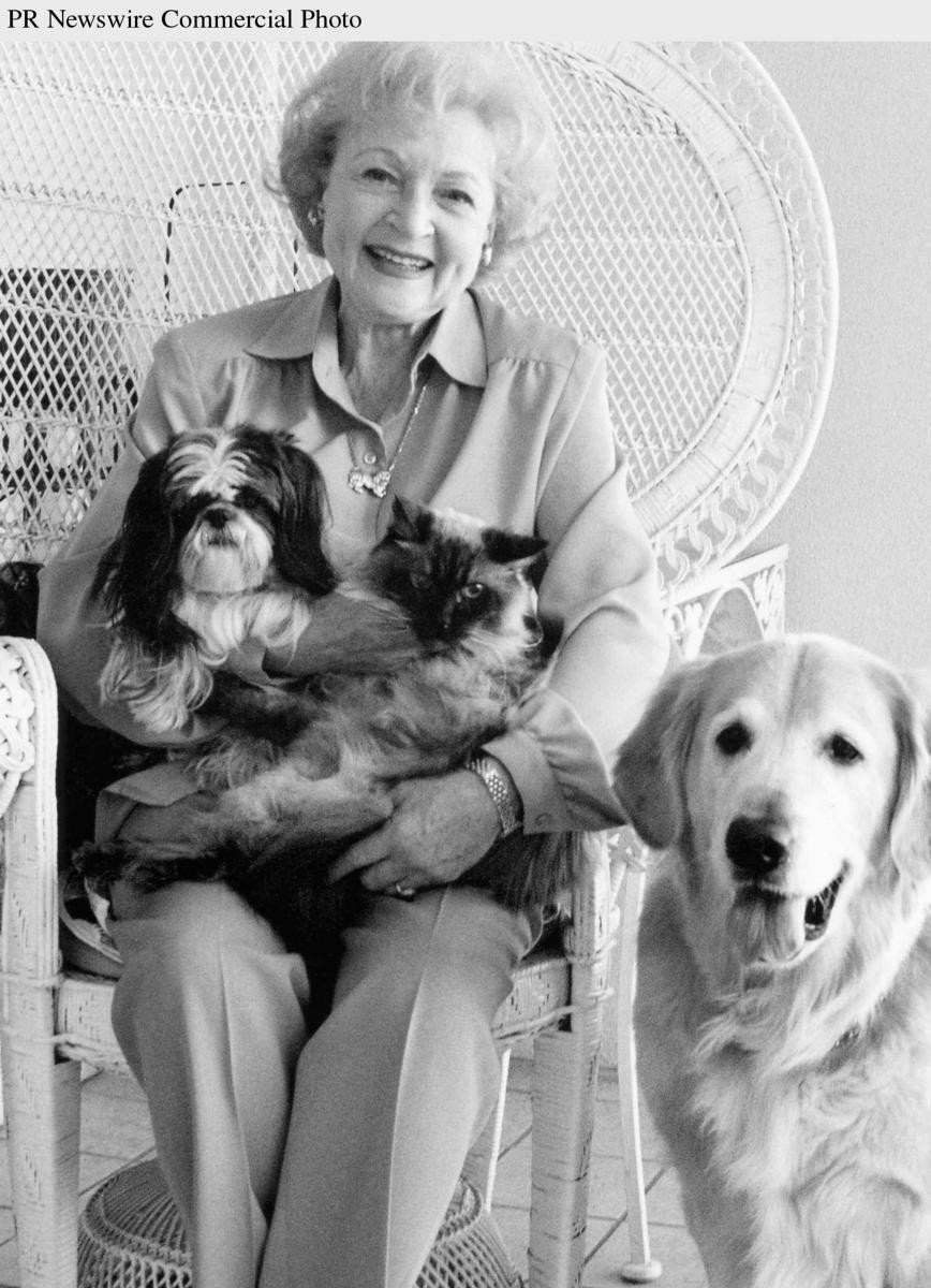 Betty White, Emmy-award winner and TV legend, has