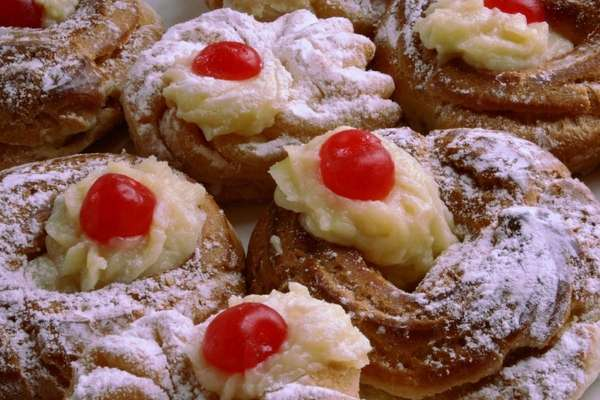 Zeppole, also known as St. Joseph's cakes