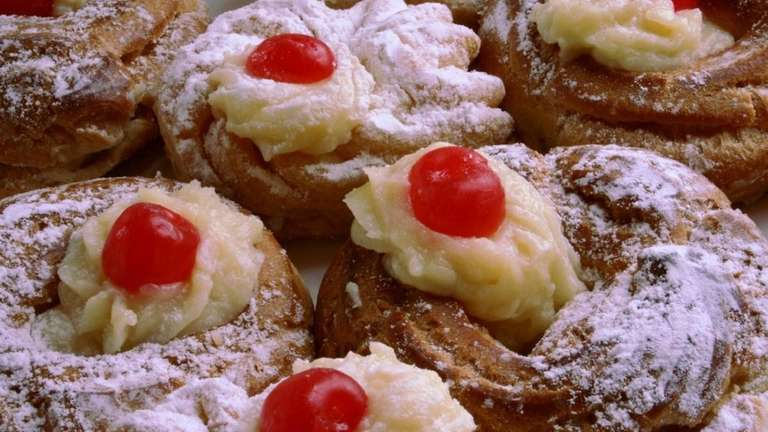 Zeppole, also known as St. Joseph's cakes