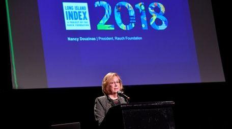 Nancy Rauch Douzinas, publisher of the LI Index,