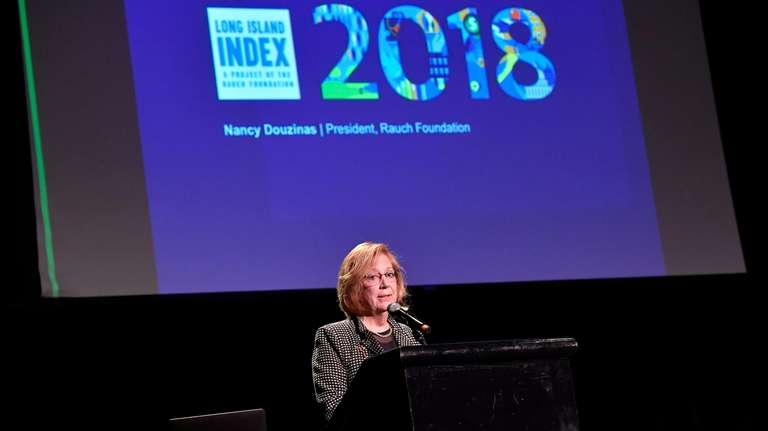 Nancy Rauch Douzinas, publisher of the LI Index,