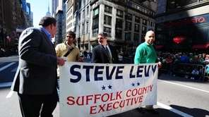 Suffolk County Executive Steve Levy during the annual