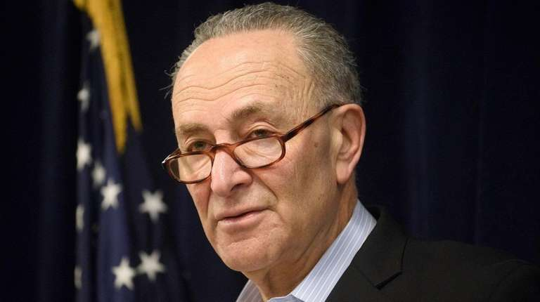 Sen. Chuck Schumer is introducing legislation decriminalizing marijuana,