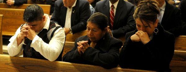 Slaying victim Marcelo Lucero's brother Joselo Lucero, left,