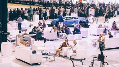 The Longines Masters Series equestrian show will be