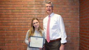 Ashley Cegelski, a senior at Lynbrook High School,