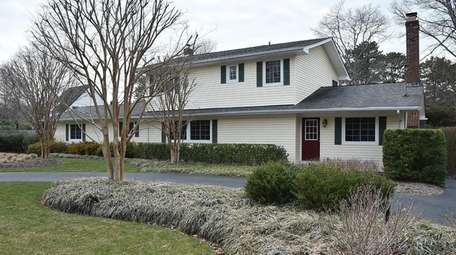 This Hampton Bays Colonial, seen on April 12,