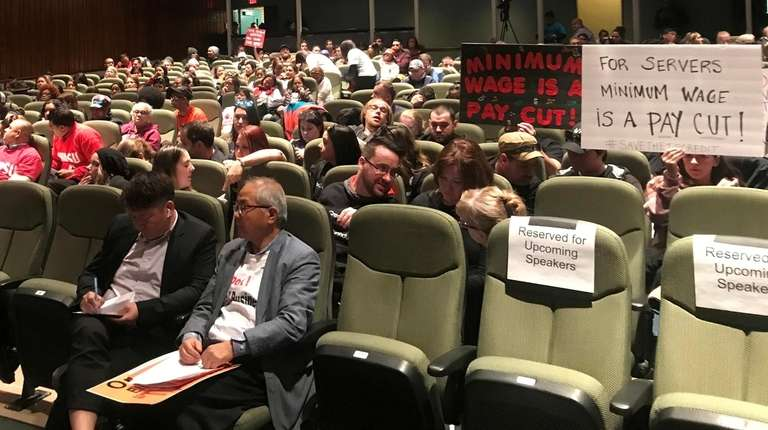 More than 500 people attend a public hearing