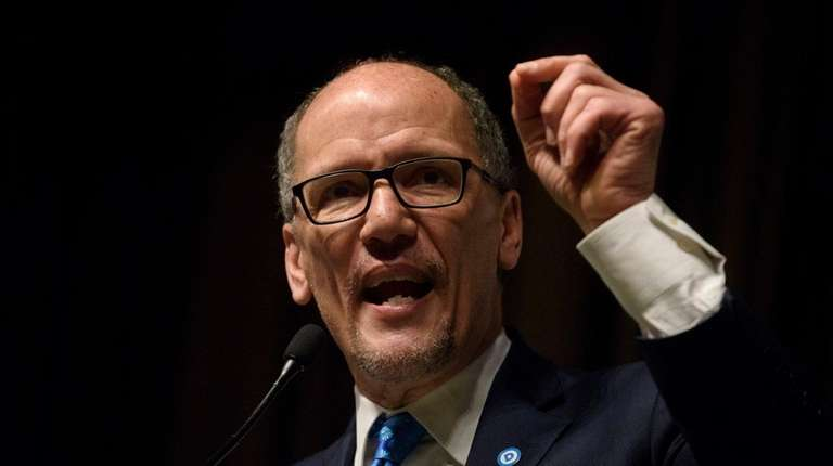 Democratic National Committee Chairman Tom Perez at the