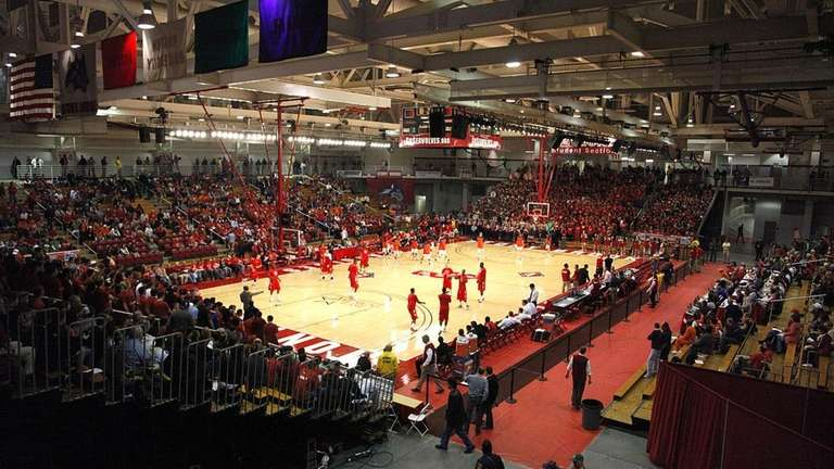 A sellout crowd of 4,423 at Stony Brook
