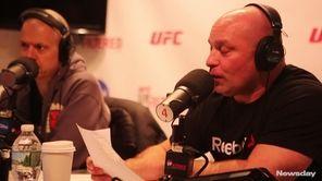 Ray Longo, Matt Serra's trainer during his fighting