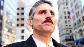 Suffolk County Executive Steve Levy marches down Fifth