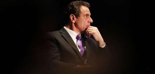 New York Governor Andrew Cuomo at an event