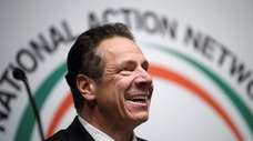 New York State Governor Andrew Cuomo attends the