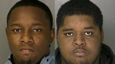 Nasier McInnis and Jonathan White were arrested Friday