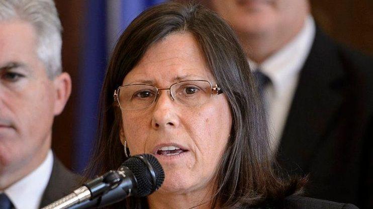 Laura Ahearn, Suffolk Crime Victims Center executive director,