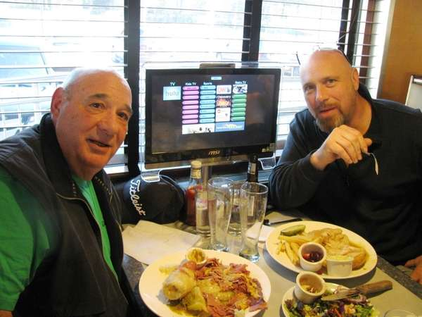 At the Landmark Diner in Roslyn, Dominic Calisto,