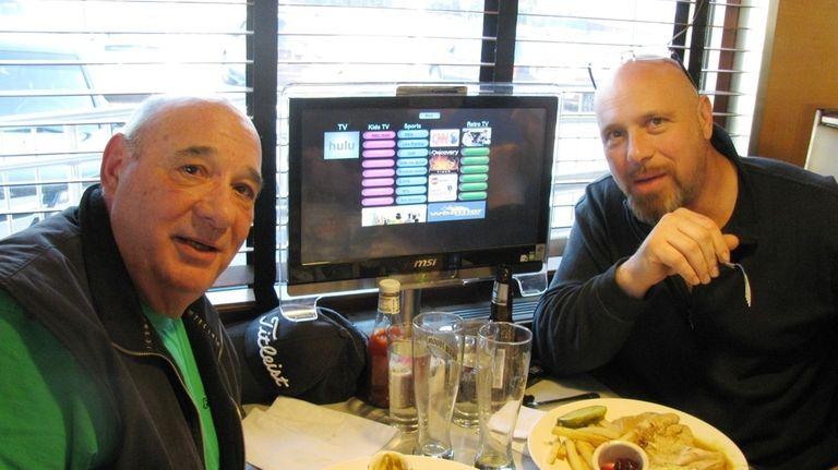 At the Landmark Diner in Roslyn, Dominic Calisto,
