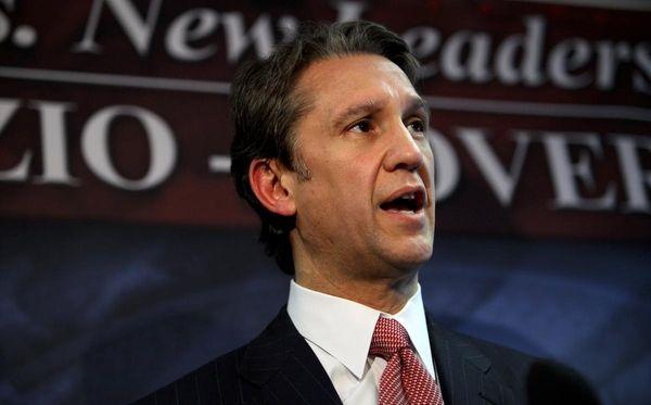 Republican gubernatorial candidate Rick Lazio speaks at a
