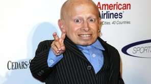 Actor Verne Troyer arrives at the 2011