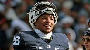 Penn State running back Saquon Barkley before facing