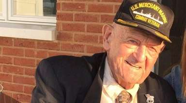 Robert Blakeman, a World War II veteran, former