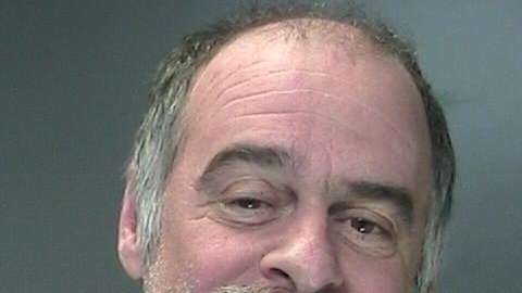 Warren Lukas, 56, of Yaphank was charged with