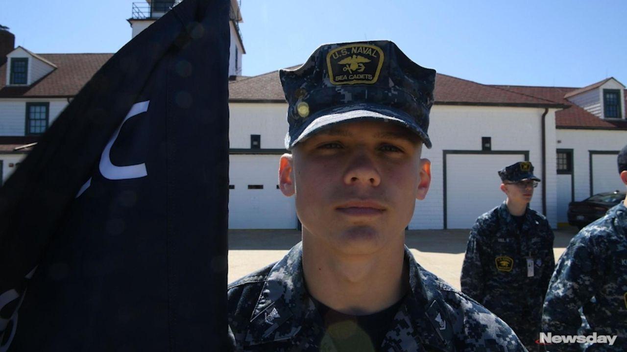Naval Sea Cadets gathered Saturday at the U.S.